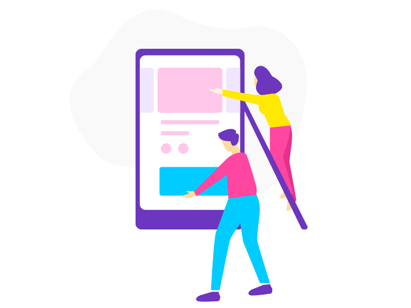 How To create awesome mobile landing page