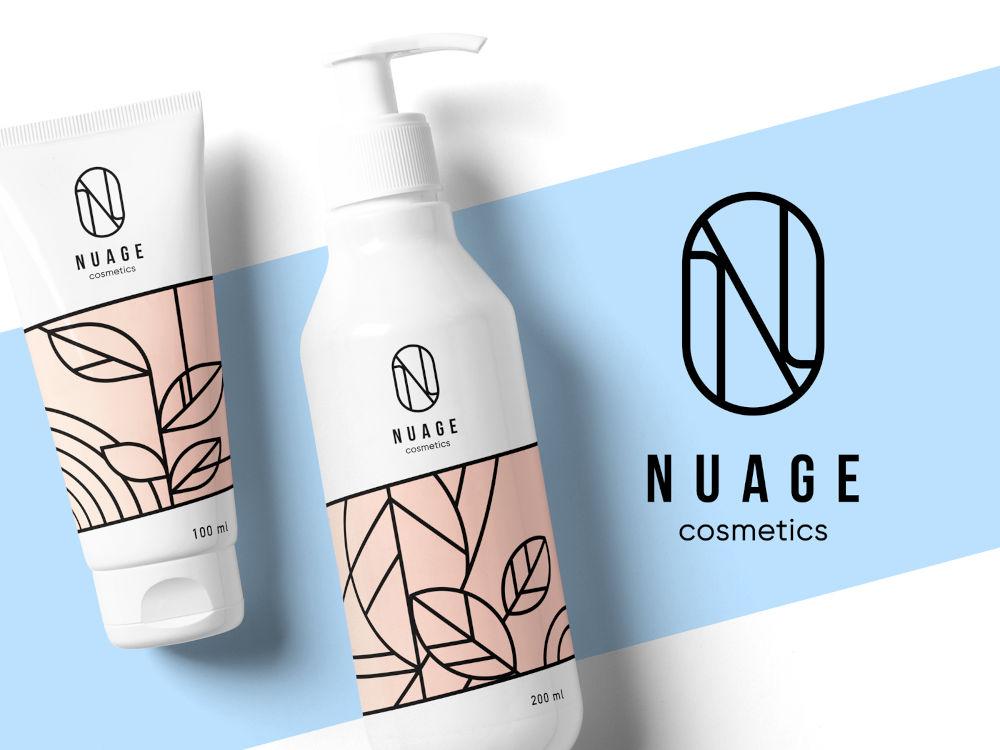 Nuage Cosmetics Identity Design by tubik